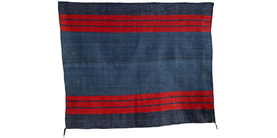 A Navajo classic twill-weave manta