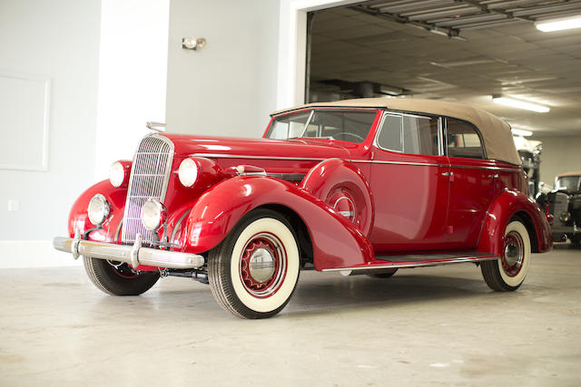 <b>1936 Buick Roadmaster Series 80C Convertible Phaeton </b><br />Engine no. 83120428