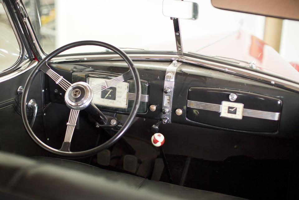 <b>1936 Buick Roadmaster Series 80C Convertible Phaeton </b><br />Engine no. 83120428
