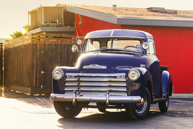 <b>1951 Chevrolet 3100 Pickup </b><br />Chassis no. 14JP-C 8806