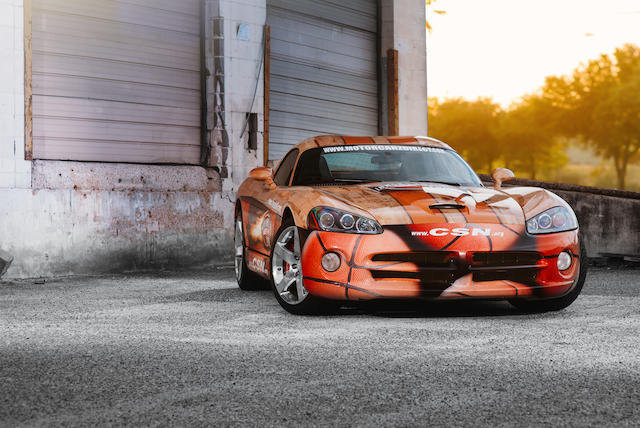 Signed by dozens of Basketball Hall of Fame members,2006 Dodge Viper  Chassis no. 1B3JZ69Z56V100820