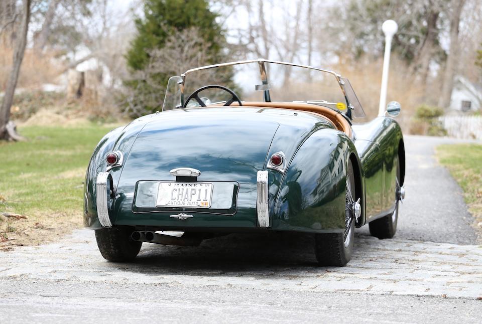 <b>1954 Jaguar XK120SE Roadster </b><br />Chassis no. S672695 <br />Engine no. W5593-8S