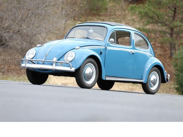 "<b>1962 Volkswagen Beetle ""Sun Roof"" Sedan  </b><br />Chassis no. 47-83962 <br />Engine no. 6810581"