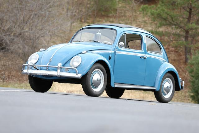 "<b>1962 Volkswagen Beetle ""Sun Roof"" Sedan  </b><br />Chassis no. 47-83962 <br />Engine no. 6810581"