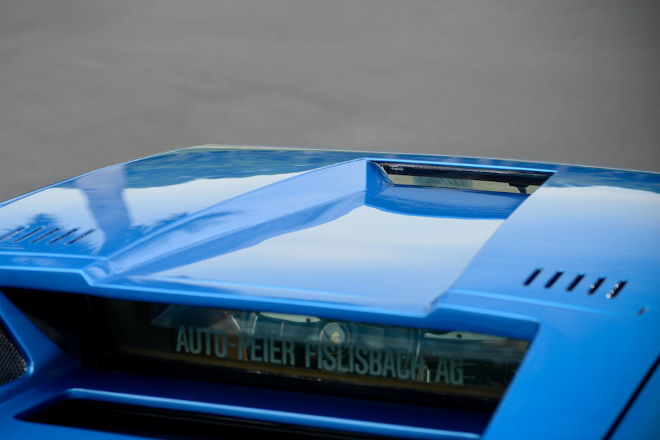 <i>Single owner since 1978, fewer than 16,500km from new</i><br /><b>1975 Lamborghini Countach LP400 'Periscopica'  </b><br />Chassis no. 1120066 <br />Engine no. 1120070