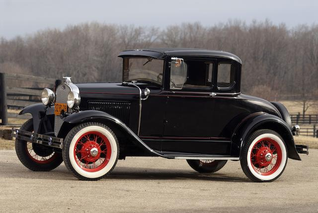 <b>1930 Ford Model A Five Window Coupe  </b><br />Engine no. A3020483