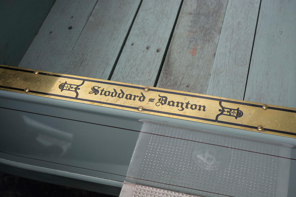 <b>1910 Stoddard Dayton Model 10K Baby Tonneau  </b><br />Engine no. F168