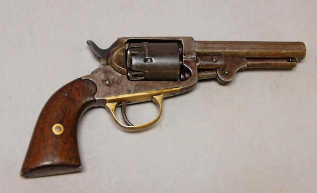 A William W. Marston percussion pocket revolver