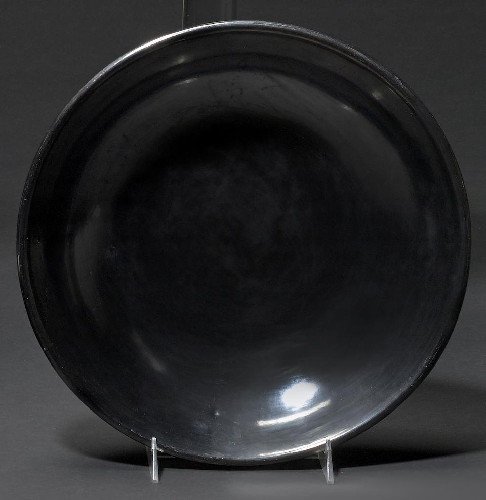 A San Ildefonso blackware bowl