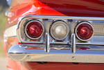 <b>1960 CHEVROLET IMPALA CONVERTIBLE  </b><br />Chassis no. 01867A155463 <br />Engine no. T0322F