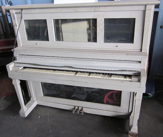 A player piano,