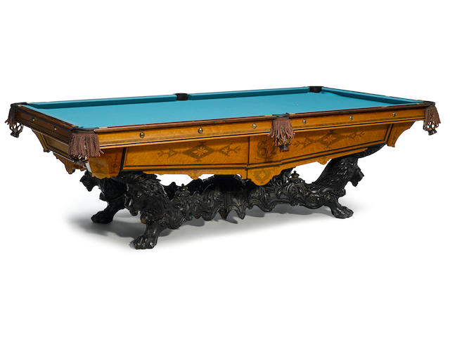 "A Brunswick-Balke-Collender ""Monarch"" pool table"