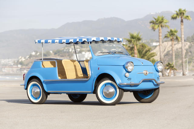 <b>1959 FIAT 500 JOLLY  </b><br />Chassis no. 110.072952 <br />Engine no. 110.000.048893