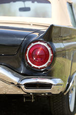 "<i>From the William ""Bill"" Fuenfhausen Collection</i><br /><b>1957 FORD THUNDERBIRD CONVERTIBLE  <br /></b>Chassis no. D7FH120130"