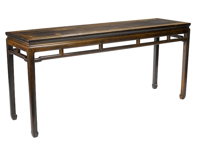 A zitan altar table  Late Qing/Republic period