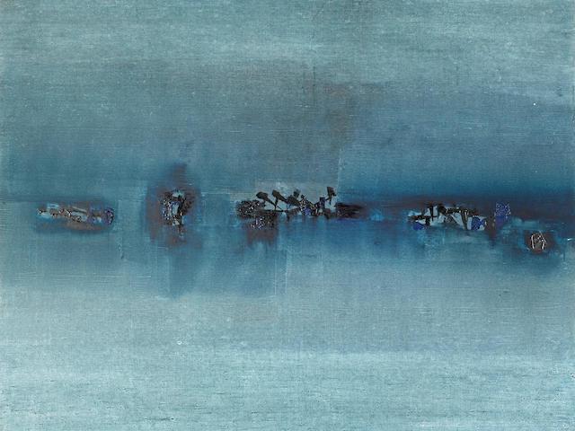 Vasudeo S. Gaitonde (1924-2001) Untitled, 1963