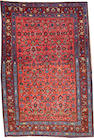 A Bidjar rug  size approximately 3ft. 7in. x 5ft. 2in.