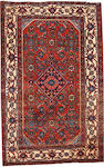 A Hamadan rug  size approximately 2ft. 7in. x 4ft.