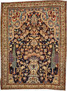A Tabriz rug  size approximately 4ft. 4in. x 5ft. 10in.