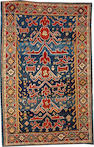 A Kuba rug  size approximately 3ft. 7in. x 5ft. 7in.