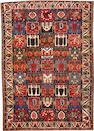 A Bakhtiari carpet  size approximately 7ft. 3in. x 10ft. 4in.
