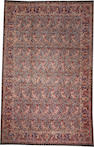 A Meshed carpet  size approximately 13ft. 1in. x 20ft. 4in.