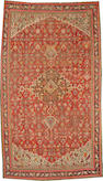 A Karabagh long carpet  size approximately 7ft. x 12ft. 3in.