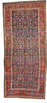 A Bidjar long carpet  size approximately 4ft. 11in. x 10ft. 10in.