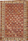 A Shirvan rug  size approximately 3ft. 9in. x 5ft. 7in.