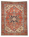 A Serapi carpet  size approximately 9ft. 11in. x 12ft. 11in.