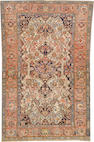 A Malayer rug size approximately 4ft. 3in. x 6ft. 7in.