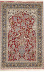 An Isphahan rug  size approximately 4ft. 4in. x 6ft. 9in.