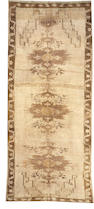 An Oushak carpet  size approximately 7ft. 2in. x 15ft. 8in.