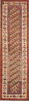 A Kurdish runner  size approxiamtely 3ft. 5in. x 12ft.