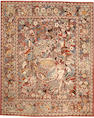 A Tabriz rug  size approximately 7ft. 4in. x 9ft. 1in.