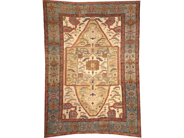 A Serapi carpet size approximately 11ft. 5in. x 15ft. 6in.