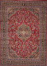 A Kashan carpet  size approximately 9ft. 5in. x 13ft. 3in.