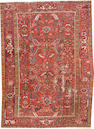 A Heriz rug  size approximately 7ft. 3in. x 9ft. 11in.