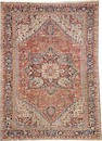 A Heriz carpet  size approximately 7ft. 10in. x 10ft. 9in.