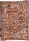 A Heriz carpet  size approximately 8ft. 2in. x 11ft. 1in.
