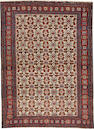 A Senneh rug  size approximately 3ft. 7in. x 4ft. 10in.