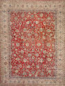 A Sarouk carpet  size approximately 10ft. 4in. x 13ft. 8in.