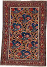 A Senneh rug  size approximately 3ft. 5in. x 5ft. 2in.