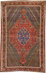 A Tabriz rug  size approximately 4ft. 10in. x 7ft. 4in.