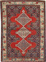 A Senneh rug  size approximately 3ft. 8in. x 5ft.