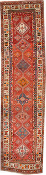A Northwest Persian runner  size approximately 3ft. 11in. x 15ft.