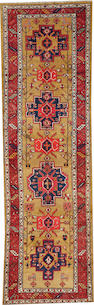 A Northwest Persian runner  size approximately 4ft. 3in. x 13ft. 11in.