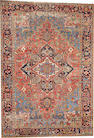 A Heriz rug  size approximately 7ft. 7in. x 10ft. 10in.