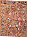 A Heriz rug  size approximately 6ft. 10in. x 9ft.