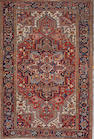 A Heriz carpet  size approximately 7ft. 2in. x 10ft. 2in.